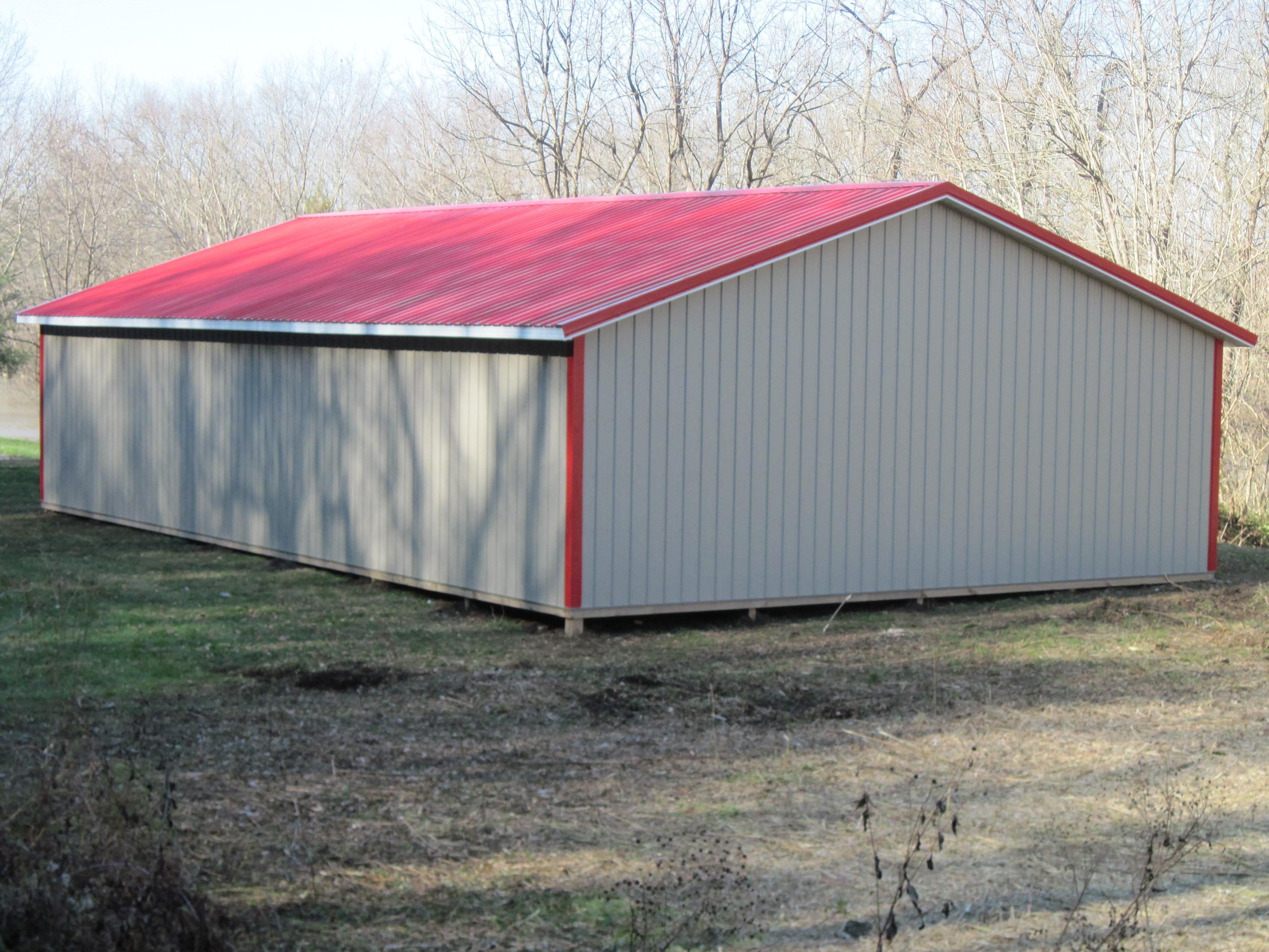 Menards pole barn kits joy studio design gallery best for 24x40 garage kit