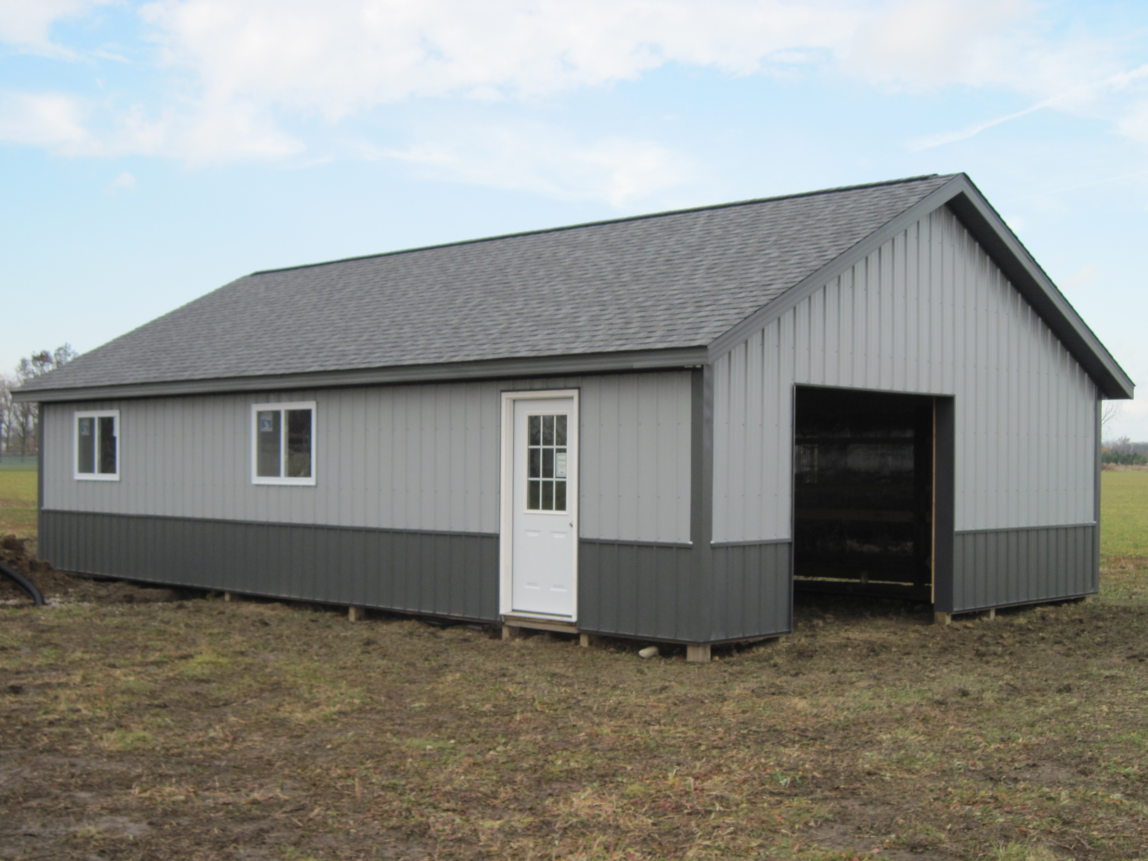 Amish Pole Buildings : Amish country barns