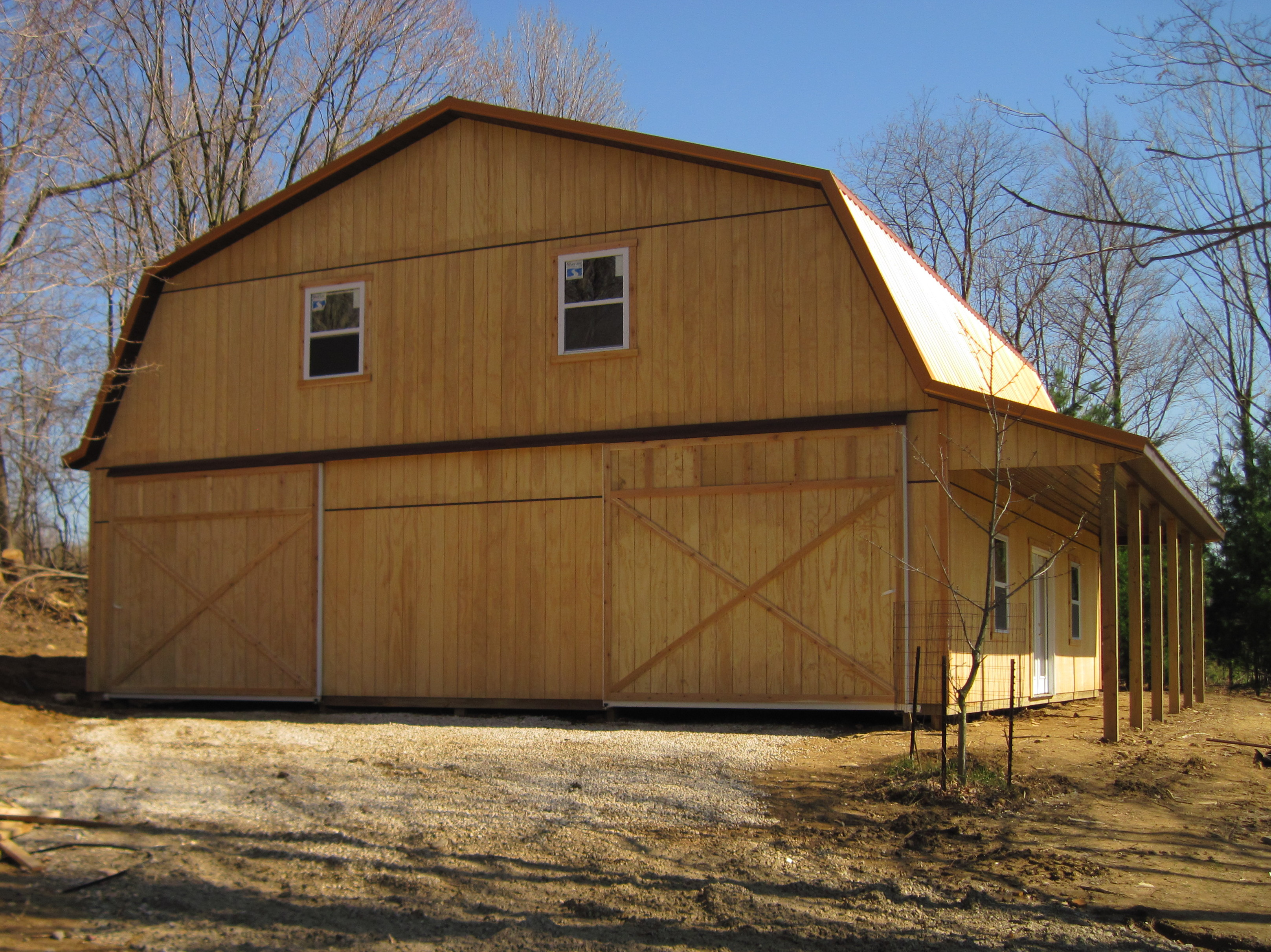 Amish country barns and sheds