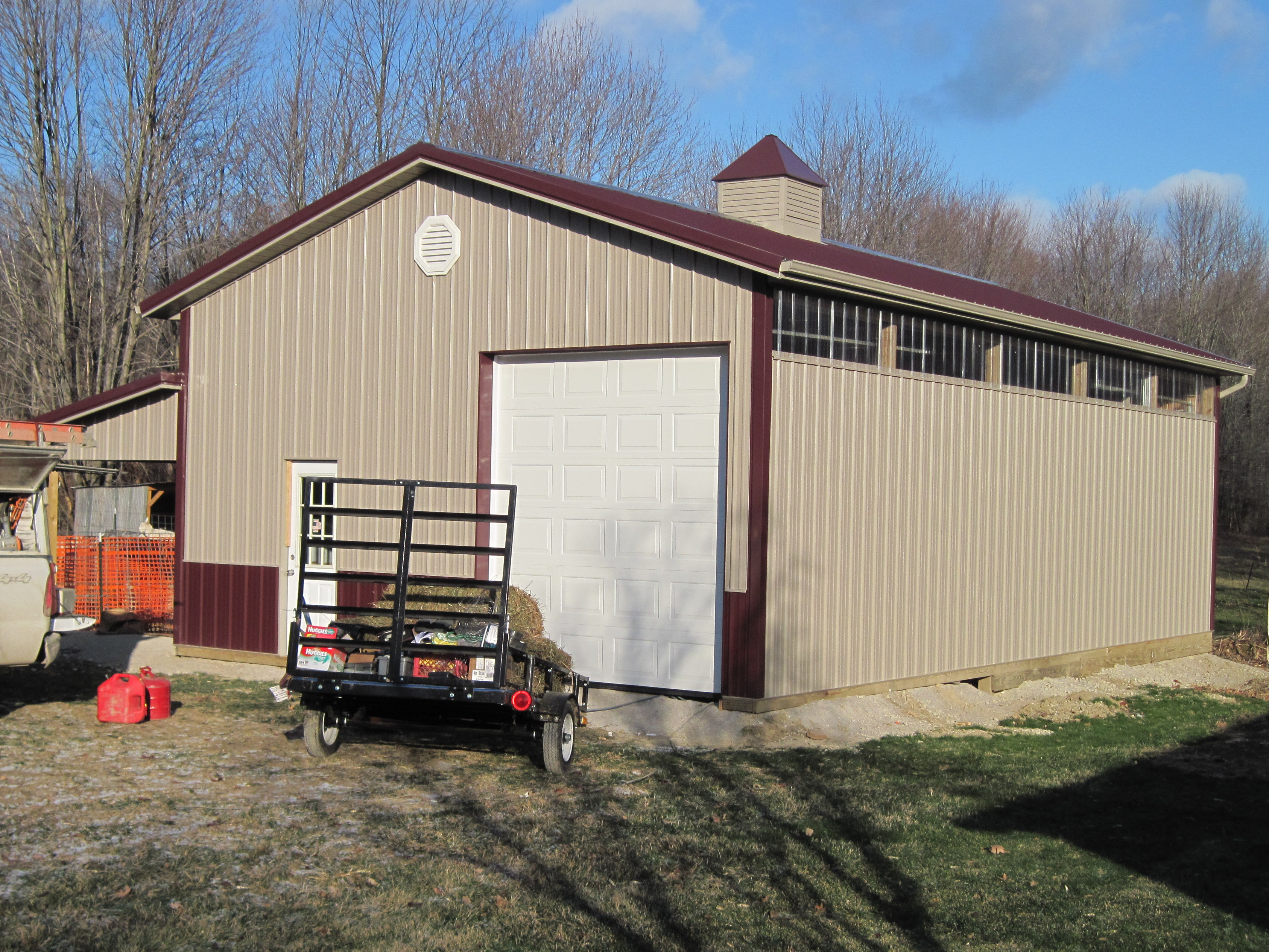 Amish Pole Garages : Amish country barns