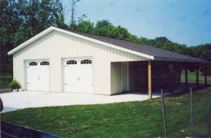 Pole barn home pics joy studio design gallery best design for Amish built pole barn houses